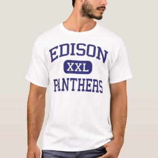 T-shirt Milieu Bakersfield de panthères d'Edison