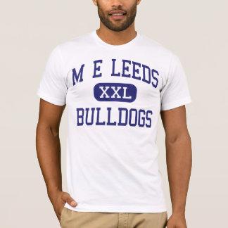 T-shirt Milieu Philadelphie de bouledogues de M E Leeds