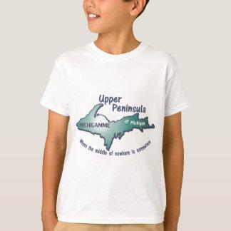 T-shirt Milieu supérieur de michigamme de péninsule de