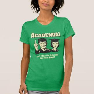 T-shirt Milieu universitaire : Écrous savoureux d'Hawaï