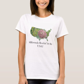 T-shirt Milkweeds Rockin aux Etats-Unis !