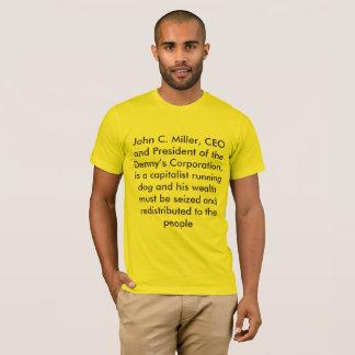 T-shirt miller de John c