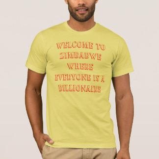 T-shirt Milliardaire du Zimbabwe