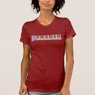 T-shirt Million de piano de quartet du dollar