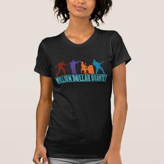T-shirt Million de quartet du dollar sur l'étape