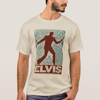 T-shirt Million de type d'Elvis de quartet du dollar