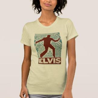 T-shirt Million de type d'Elvis de quartet du dollar
