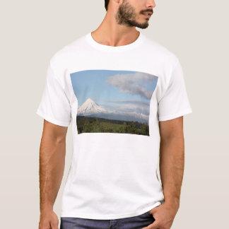 T-shirt Milou et Mt ensoleillé Egmont, Taranaki, Nouvelle