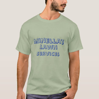 T-shirt Minella, pelouse, services