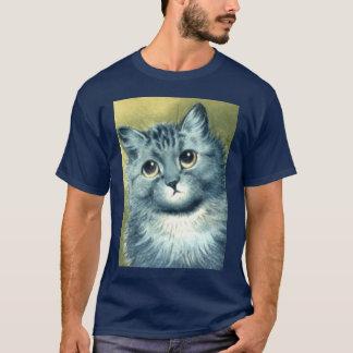 T-shirt minou bleu