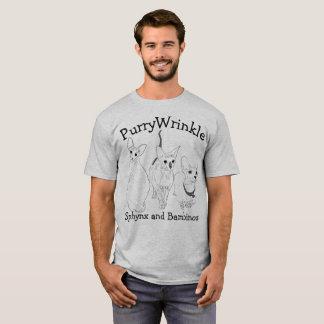 T-shirt Minous de PurryWrinkle Sphynx et de Bambino