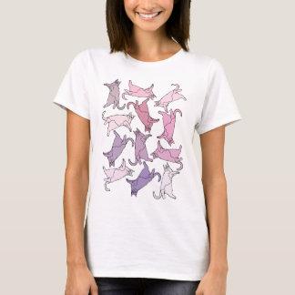 T-shirt Minous partout !