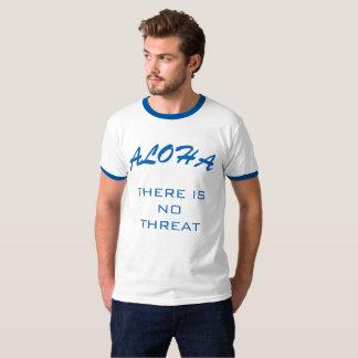 T-shirt Missile balistique d'Hawaï avertissant la fausse
