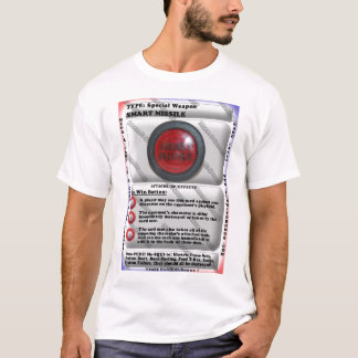 T-shirt Missile intelligent - Méga-R-Cade ! ! Carte