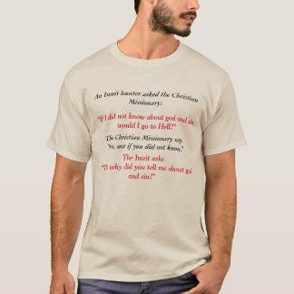 T-shirt Missionnaire esquimau