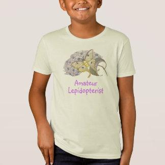 T-Shirt Mite de Luna amateur de lépidoptériste