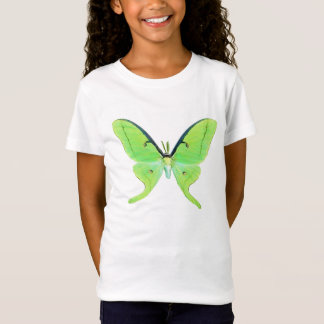 T-Shirt Mite de Luna sur un pâle - arrière - plan vert