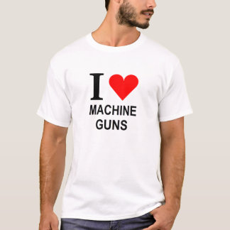 T-shirt Mitrailleuses du coeur I
