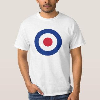 T-shirt Mod - Rondeau classique - cible de tir à l'arc de
