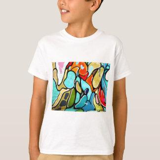 T-shirt mode de graffiti