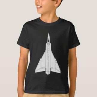 T-shirt Modèle de flèche d'Avro