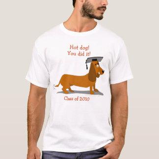 T-shirt Modèle personnalisable d'obtention du diplôme de