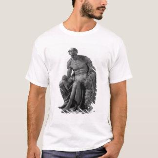 T-shirt Modèle pour un monument à Jean-Jacques Rousseau