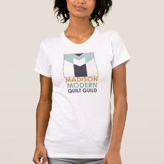 T-shirt moderne de guilde d'édredon de Madison :