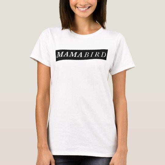 T-shirt moderne de maman (maman Bird)