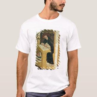 T-shirt Moine dominicain à son bureau, du cycle de 'pour