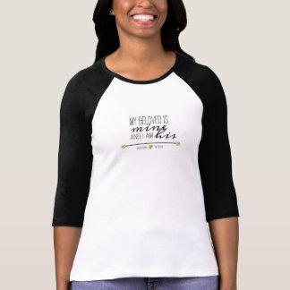T-shirt Mon aimé est le mien, écriture sainte