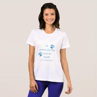 T-shirt Mon bouledogue français a volé mon coeur
