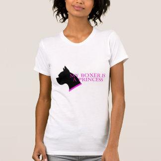 T-shirt Mon boxeur est une princesse