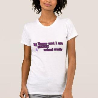 T-shirt Mon boxeur et moi sont CONTRE la cruauté animale