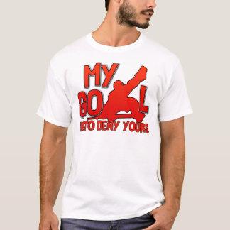 T-shirt Mon but, pièce en t de gardien de but d'hockey