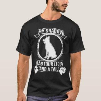 T-shirt Mon chien est mon ombre