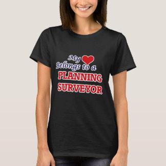 T-shirt Mon coeur appartient à un arpenteur de