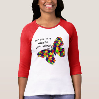 T-shirt Mon enfant avec l'autisme