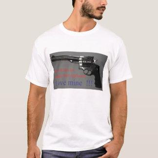 T-shirt Mon épouse aime son acier inoxydable
