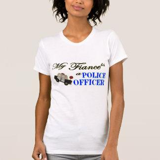 T-shirt Mon fiancé est un policier