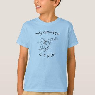 T-shirt Mon grand-papa est un pilote