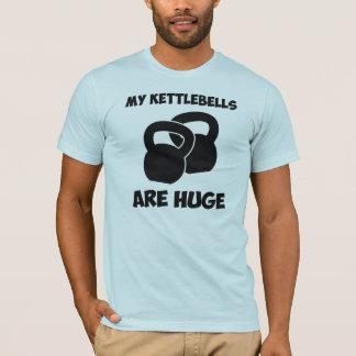 T-shirt Mon Kettlebells sont séance d'entraînement énorme
