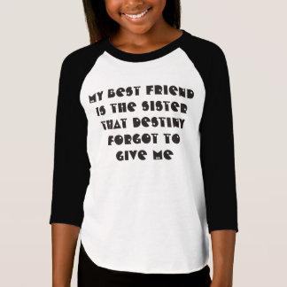 T-shirt Mon meilleur ami est ma chemise de douille de la