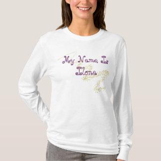 T-shirt Mon nom est Ilona, avec la poussière féerique