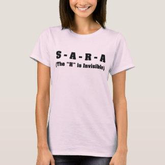 T-shirt Mon nom est Sara pas Sarah