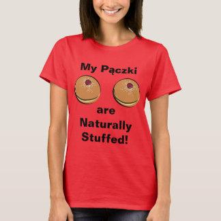 T-shirt Mon Paczki sont naturellement bourrés !
