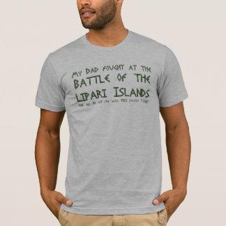 T-shirt Mon papa a combattu à la bataille des îles de