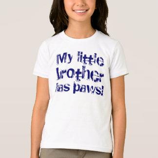 T-shirt Mon petit frère a des pattes