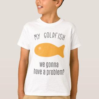 T-shirt Mon poisson rouge, nous allant avoir un problème ?