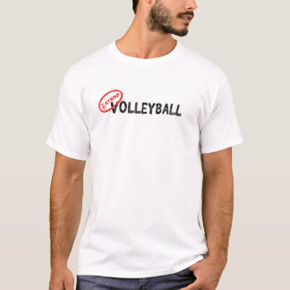 T-shirt Mon timbre/volleyball